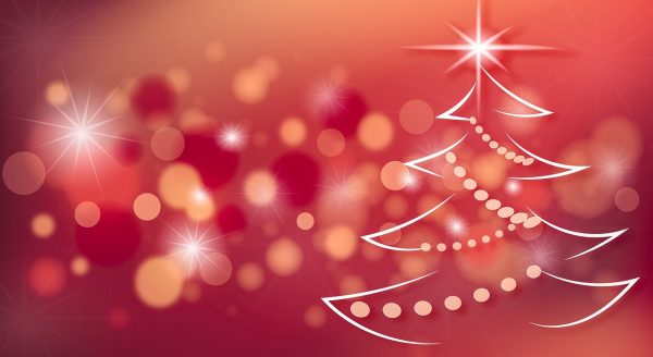 vánoční přání, vánoční stromeček